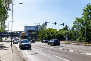 Bauarbeiten in der Lübecker Straße
