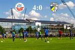 Hansa Rostock besiegt Carl Zeiss Jena mit 4:0