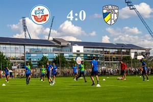 Hansa Rostock besiegt Carl Zeiss Jena mit 4:0 (Foto: Archiv)