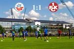 Hansa Rostock und Kaiserslautern trennen sich 1:1