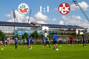 Hansa Rostock und Kaiserslautern trennen sich 1:1 (Foto: Archiv)