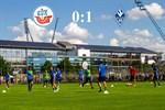 Hansa Rostock unterliegt Mannheim mit 0:1