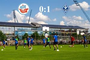 Hansa Rostock unterliegt Mannheim mit 0:1 (Foto: Archiv)