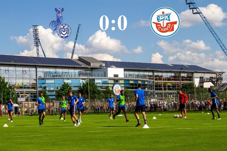 Hansa Rostock und Duisburg trennen sich torlos