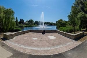 Kleine Bastion im Schwanenteichpark in Rostock-Reutershagen saniert