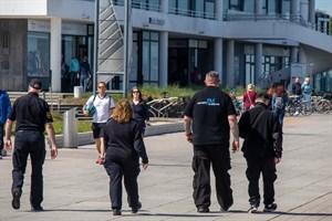 Der Kommunale Ordnungsdienst unterstützt in diesem Jahr die Strandvögte in Warnemünde und Markgrafenheide (Foto: Archiv, 30. Mai 2020)