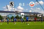 Hansa Rostock besiegt 1860 München mit 1:0