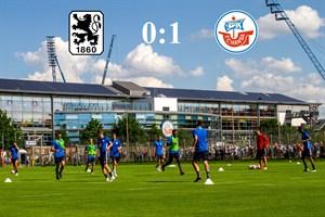 Hansa Rostock besiegt 1860 München mit 1:0 (Foto: Archiv)