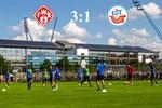 Hansa Rostock unterliegt Würzburg mit 1:3