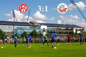 Hansa Rostock unterliegt Würzburg mit 1:3 (Foto: Archiv)