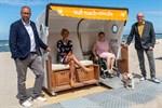 Barrierefreier Strandkorb bleibt in Warnemünde