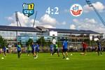 Hansa Rostock unterliegt Chemnitz mit 2:4
