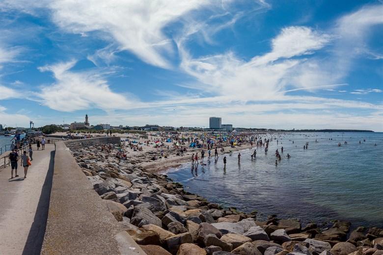 B-Plan Strand mit Gastronomie an der Westmole