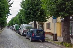 Bewohnerparken in Warnemünde (Foto: Archiv)
