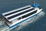 Elektro-Solar-Personenfähre für Stadthafen auf Kiel gelegt