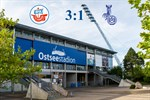 Hansa Rostock besiegt Duisburg mit 3:1