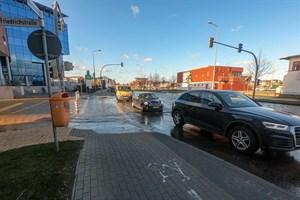 Im Bereich der Friedrichstraße könnte die Hochwasserschutzmauer im Stadthafen Rostock bis zu 1,87 Meter hoch werden (Foto: Archiv)