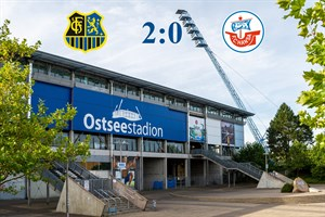 Hansa Rostock unterliegt Saarbrücken mit 0:2 (Symbolfoto: Archiv)