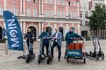 Neuer E-Scooter-Verleiher in Rostock gestartet