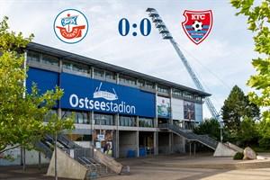Hansa Rostock und Uerdingen trennen sich torlos (Symbolfoto: Archiv)