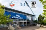 Hansa Rostock und 1860 München trennen sich 1:1