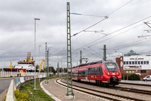 Die DB Netz AG will das S-Bahn-Quietschen vor dem Bahnhof Warnemünde beseitigen