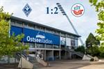 Hansa Rostock besiegt Waldhof Mannheim mit 2:1