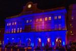 Blaues Rathaus zum Aktionstag gegen die Todesstrafe