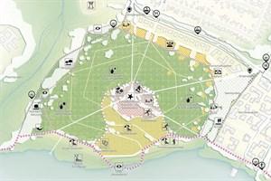 Buga-Stadtpark in Rostock (Entwurf: RMP Stephan Lenzen Landschaftsarchitekten)