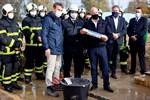 Grundsteinlegung für Feuer- und Rettungswache in Dierkow