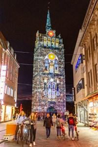 Rostocker Lichtwoche 2020 am Kröpeliner Tor