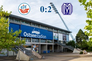 Hansa Rostock unterliegt Meppen mit 0:2 (Symbolfoto: Archiv)