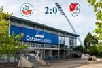 Hansa Rostock besiegt Türkgücü München mit 2:0