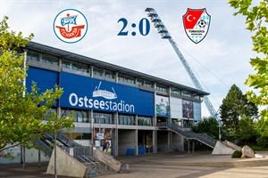 Hansa Rostock besiegt Türkgücü München mit 2:0 (Symbolfoto: Archiv)