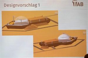 So könnte die Strandoase in Warnemünde künftig aussehen (Designvorschlag: TAB)