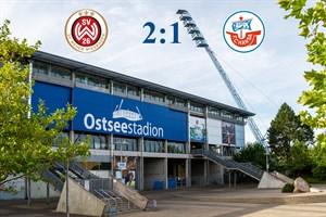 Hansa Rostock verliert bei Wehen Wiesbaden mit 1:2 (Symbolfoto: Archiv)