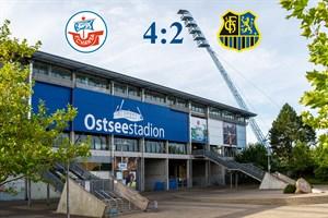 Hansa Rostock besiegt Saarbrücken mit 4:2 (Symbolfoto: Archiv)