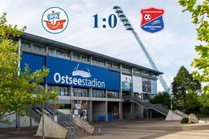 Hansa Rostock besiegt Unterhaching mit 1:0 (Symbolfoto: Archiv)