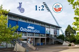 Hansa Rostock besiegt Duisburg mit 2:1 (Symbolfoto: Archiv)