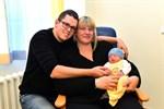 Erstes Baby 2021 am Klinikum Südstadt