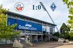 Hansa Rostock besiegt Waldhof Mannheim mit 1:0