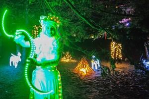 Lichterglanz im Warnemünder Kurpark