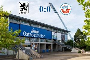 Hansa Rostock und 1860 München trennen sich 0:0 (Symbolfoto: Archiv)