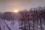 Schnee dank Lake-Effekt in Rostock