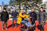 Bewegungsparcours in Warnemünde eröffnet