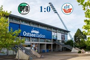 Hansa Rostock unterliegt Lübeck mit 0:1 (Symbolfoto: Archiv)