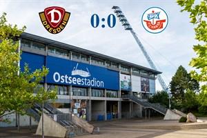 Hansa Rostock und Dynamo Dresden trennen sich torlos (Symbolfoto: Archiv)