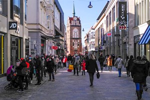 Einzelhandel trotz steigender Corona-Zahlen weiter offen (Foto: Archiv)
