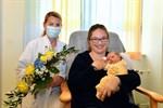 1000. Geburt des Jahres 2021 am Südstadt-Klinikum