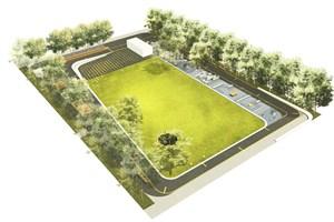 Bürgerpark Toitenwinkel (Visualisierung: Büro Hannes Hamann Landschaftsarchitekten)